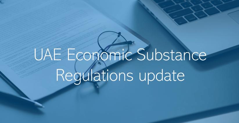 economic substance regulations
